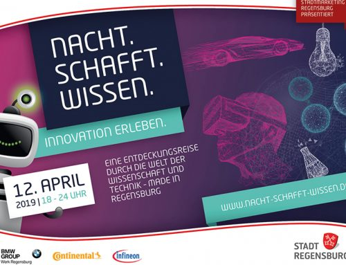 We are partner of NACHT.SCHAFFT.WISSEN 2019!