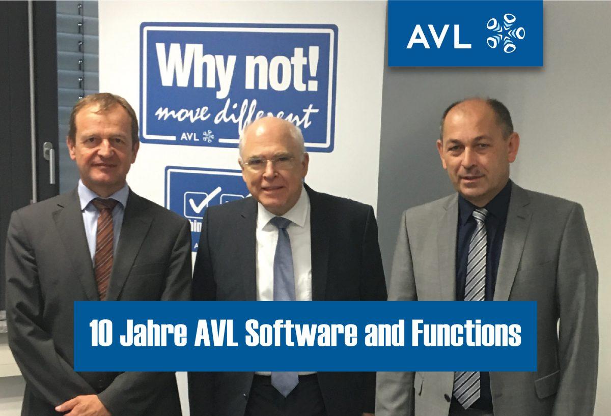 Anton Angermaier, Prof. Dr. hc. Helmut List, Dr. Georg Schwab