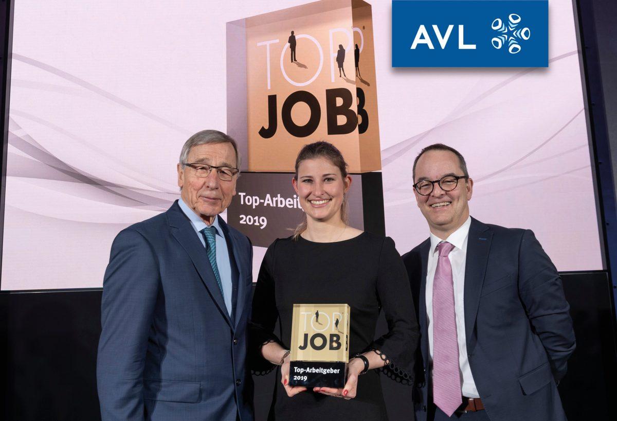 Foto Top Job Preisverleihung mit AVL und Wolfgang Clement