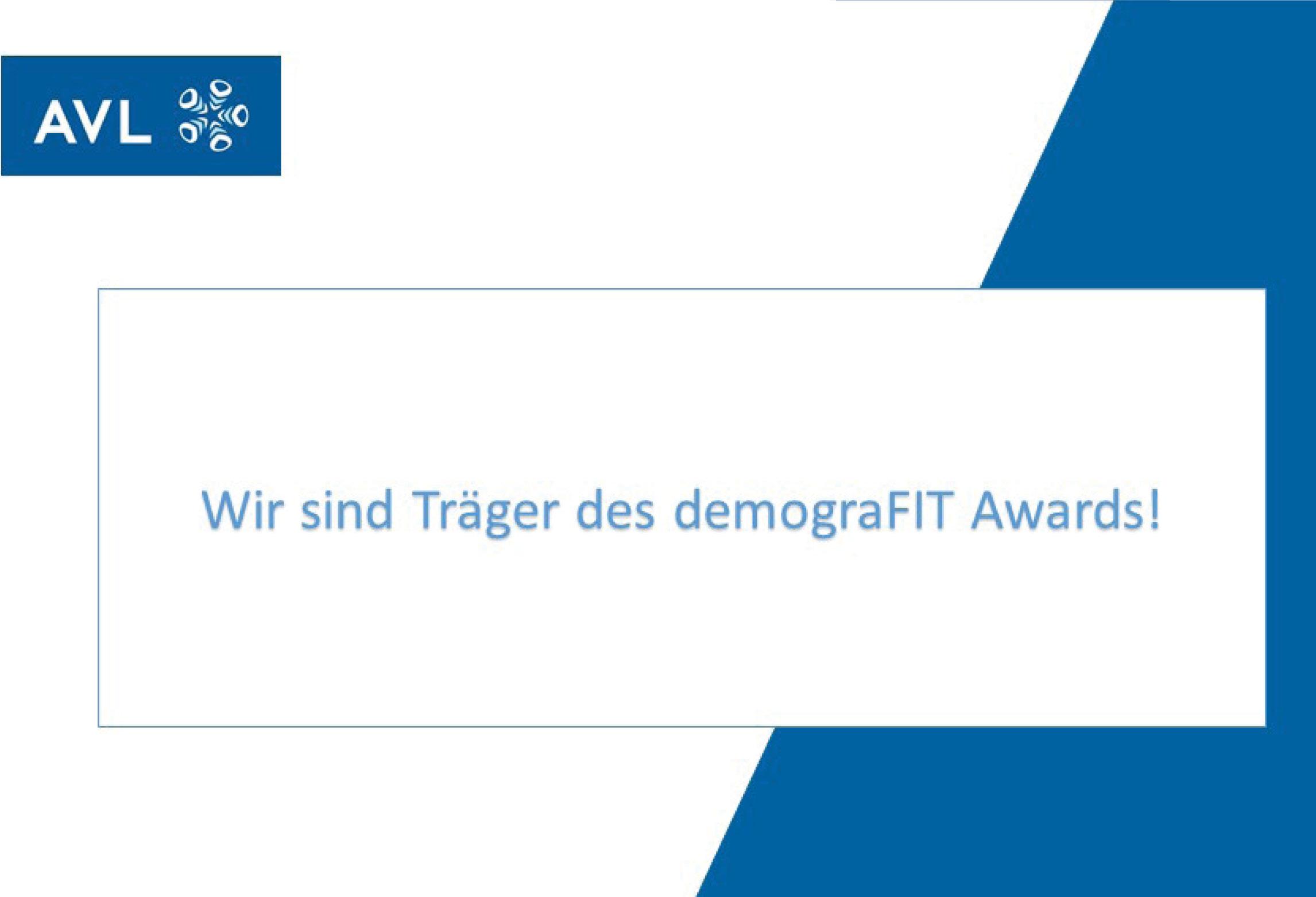 Logo demograFIT Award