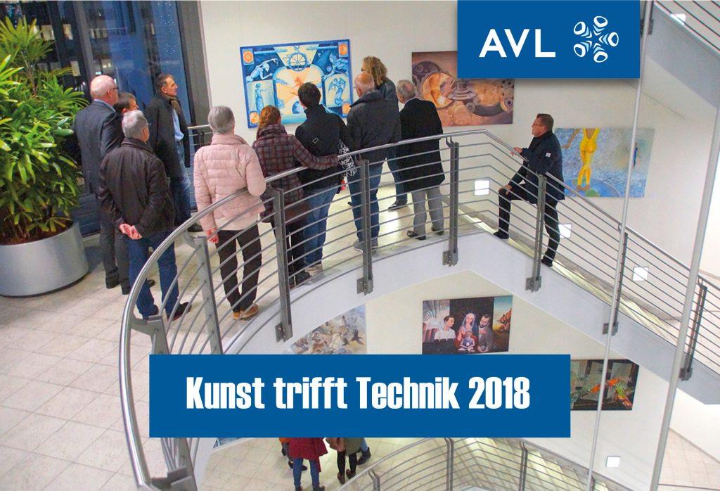 Ausstellung Kunst trifft Technik 2018
