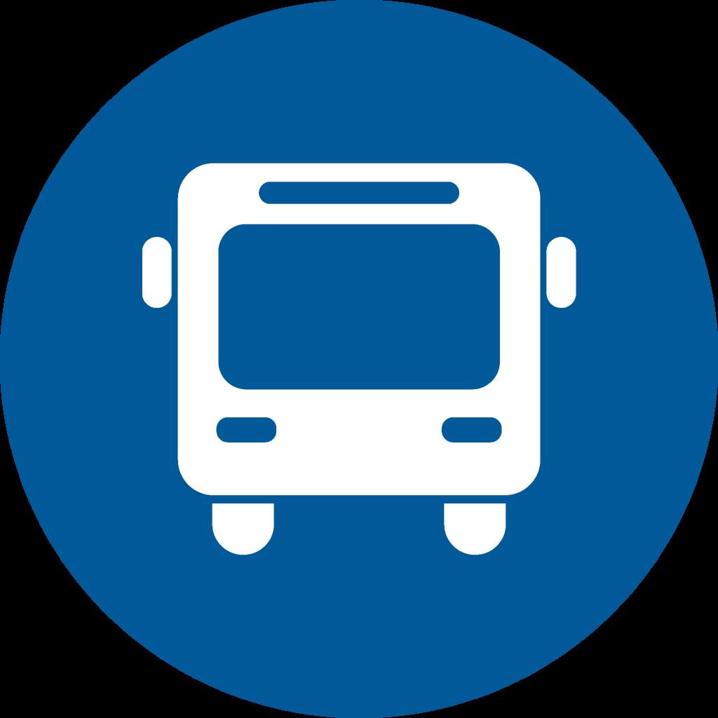 Icon public transportation