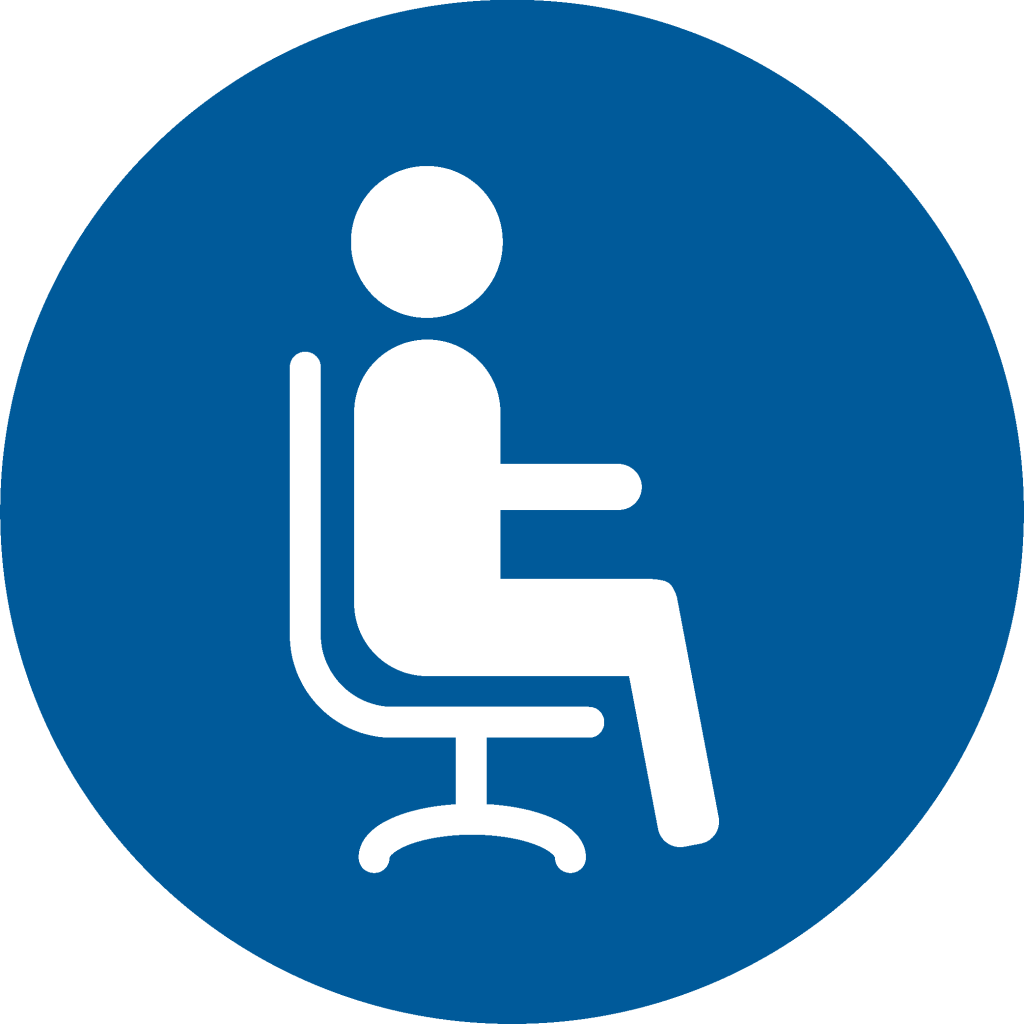 Icon ergonomic work place