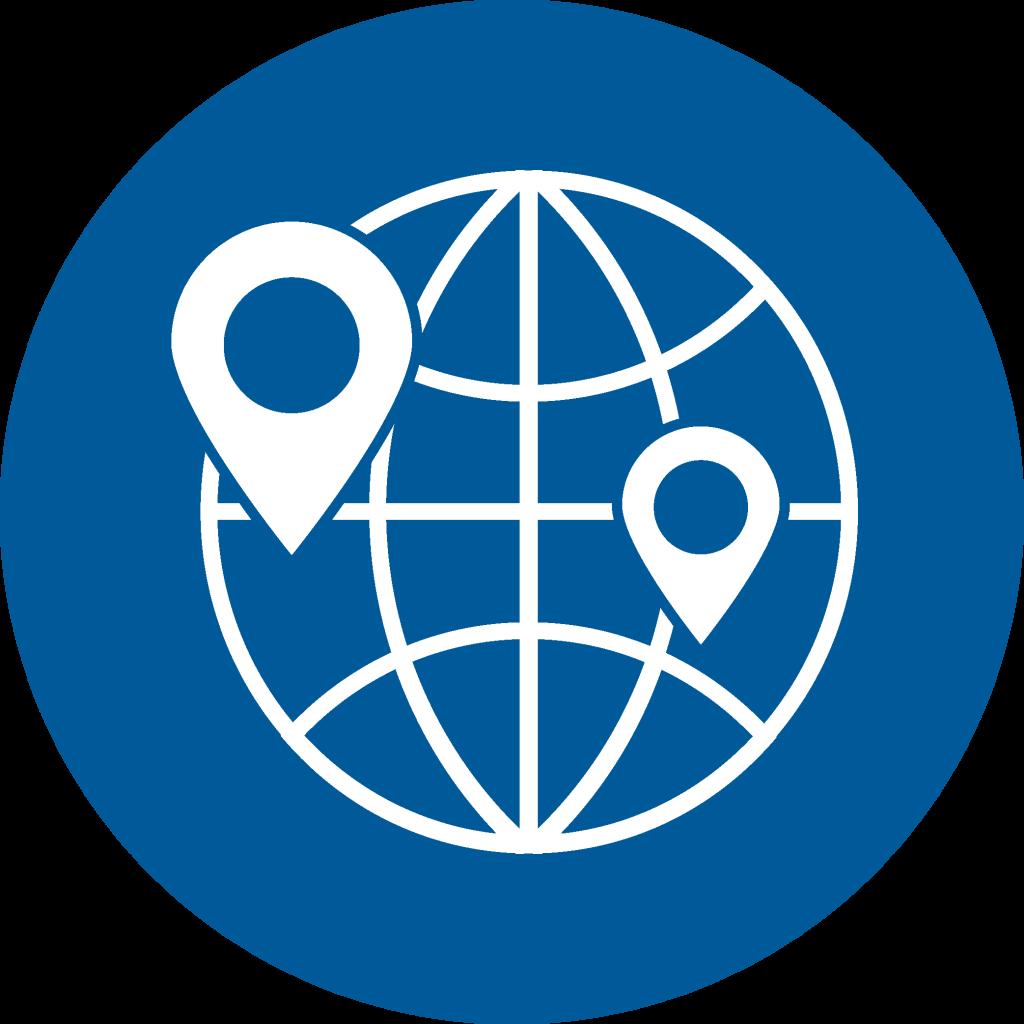 Icon international work environment