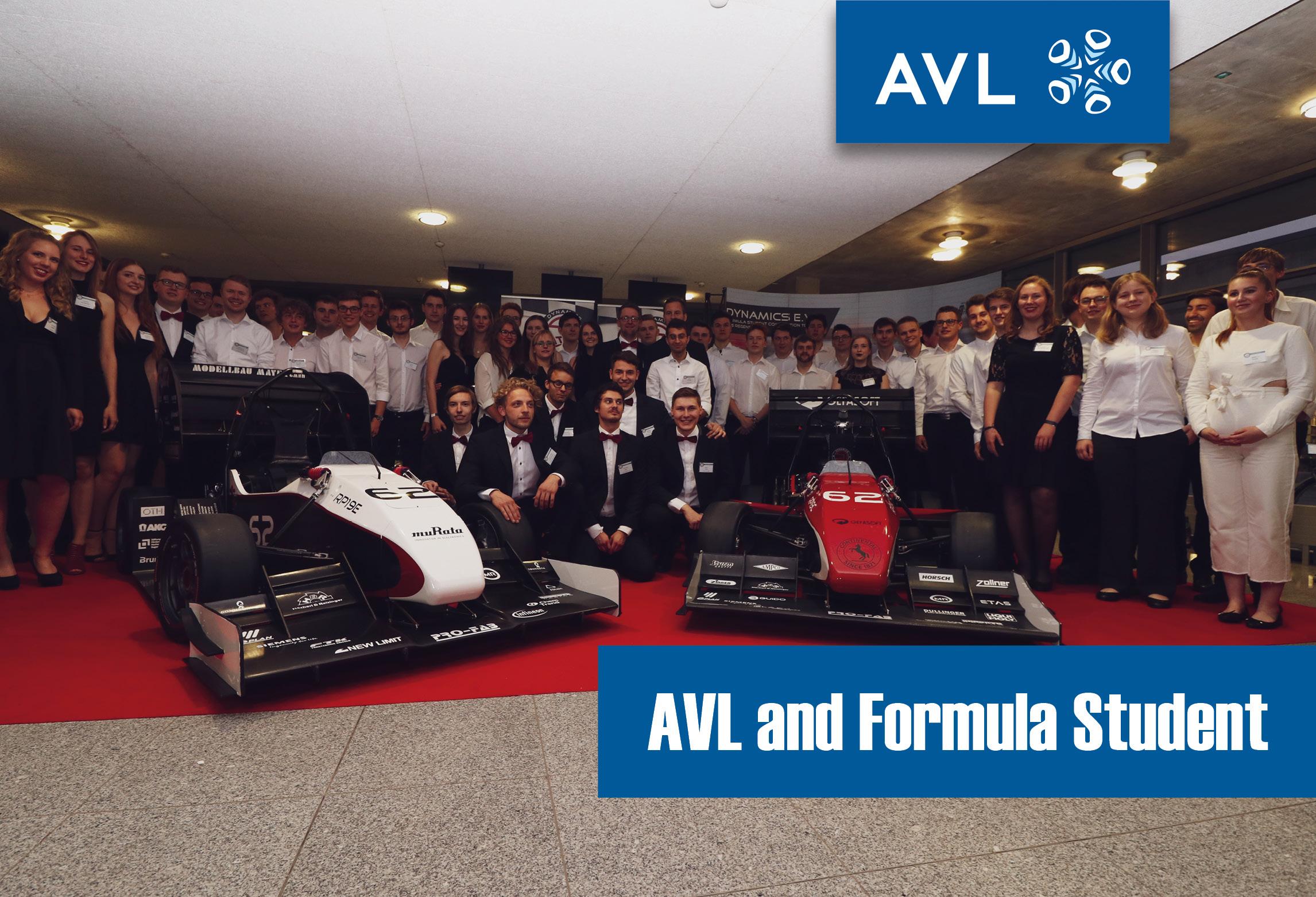 AVL supports Formula Student Regensburg - AVL Software & Functions