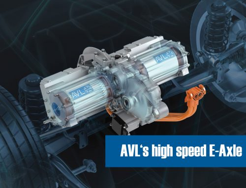 Paper about AVL's high speed E-Axle published